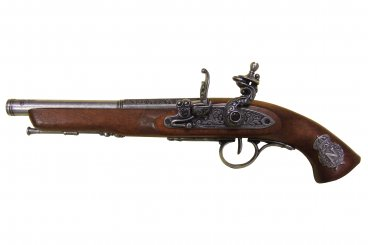 Denix Silex Pistol, Left Handed, France, 18th Century - Avothea Store