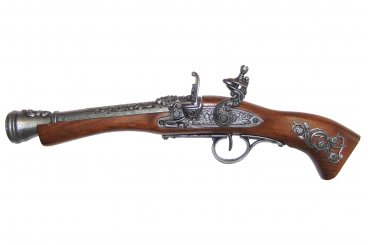 Denix Blunderbuss (Left handed) Flintlock Pistol, 18TH Century - Avothea Store