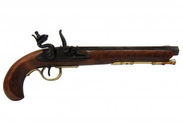 Denix Kentucky Flintlock Pistol - USA - Black - Avothea Store