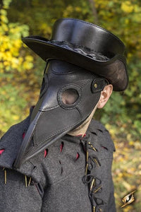 Plague Doctor Mask - Black - Avothea Store