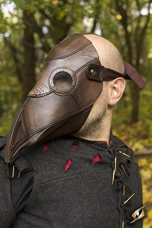 Plague Doctor Mask - Brown - Avothea Store