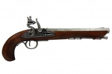 Denix Kentucky Flintlock Pistol - USA - Grey - Avothea Store