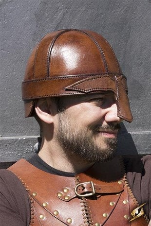 Warrior Helmet - Brown - Avothea Store