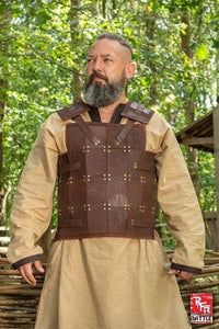 RFB Fighter Leather Armour - Brown - Avothea Store