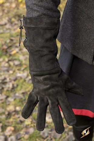 Leather Gloves - Black - Avothea Store