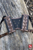 RFB Double Sword Harness - Brown/Black - Avothea Store