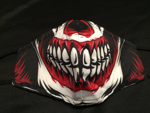 Mask - Red - Skull teeth - M - Avothea Store