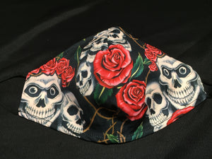 Mask - Skulls and roses - M - Avothea Store