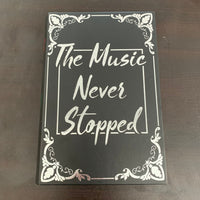 Music Never Stopped Stash Book
