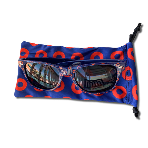 Classic Black Fishman Donut Sunglasses