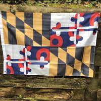 Maryland State Donut Flag