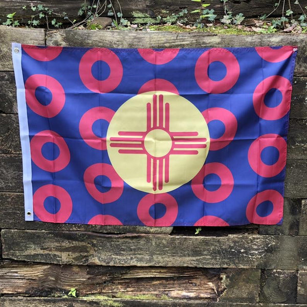 New Mexico State Donut Flag