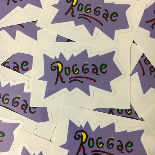 Roggae Rugrats Sticker
