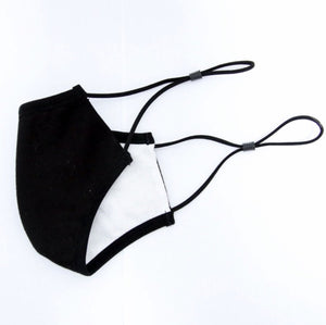Black Washable Fashion Mask - 5 Pack - Lay Bare Waxing Salon - US