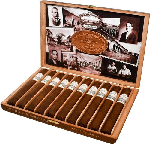 Casa Turrent 1880 Oscuro Double Robusto