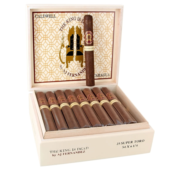 Caldwell The King is Dead Toro - AME Cigars
