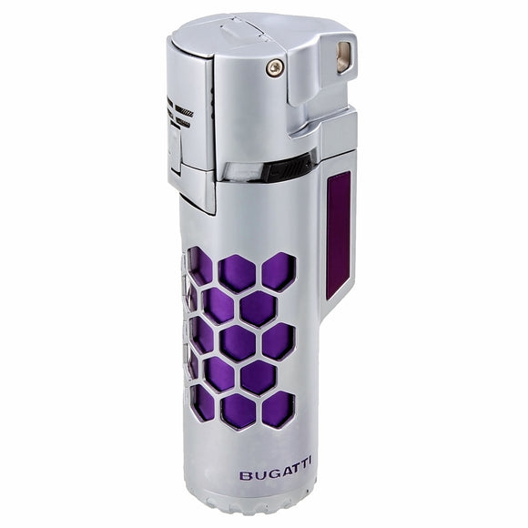 Bugatti Mirage Lighter Purple/Chrome - AME Cigars