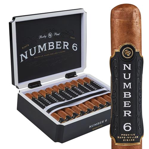 Rocky Patel Number 6 Corona - AME Cigars
