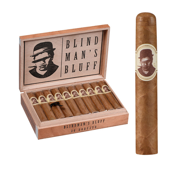 Caldwell Blind Mans Bluff Connecticut Robusto - AME Cigars