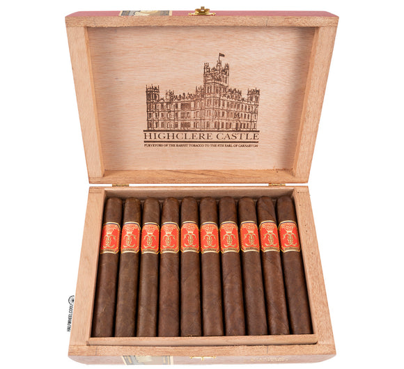 Foundation Cigars Victorian Highclere Castle Maduro Corona - AME Cigars