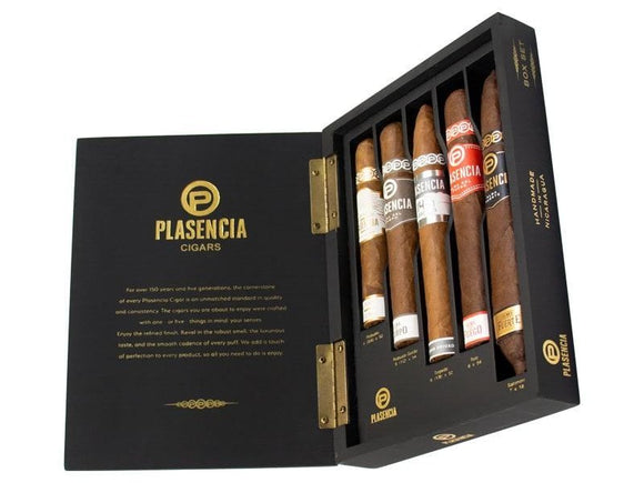 Plasencia Box Set Sampler