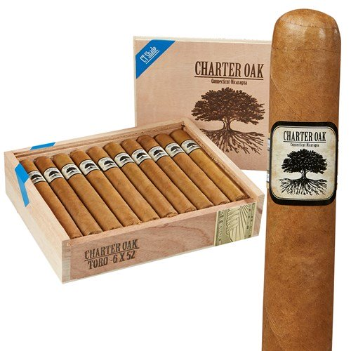 Foundation Cigars Rothschild Charter Oak Shade - AME Cigars