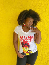 Load image into Gallery viewer, Mumu Rouge Women's V Neck T Shirt