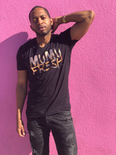 Load image into Gallery viewer, Mumu Fresh Black & Rose Gold Men's T Shirt