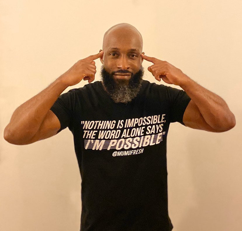 "Mumu Fresh ""Nothing is Impossible"" Lyrics Unisex T -"