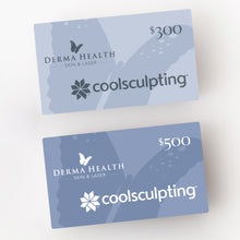 Load image into Gallery viewer, Derma Health Skin & Laser CoolSculpting Gift Card