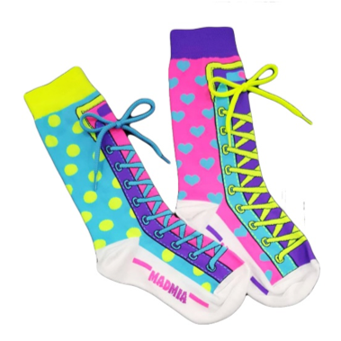MADMIA Bright Crew Socks