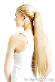 Straight ponytail /Hairpiece extension