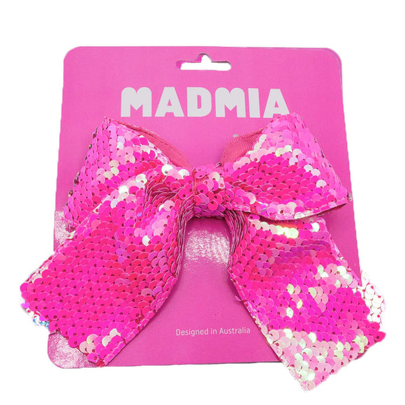 MADMIA Pink Sequin Bow