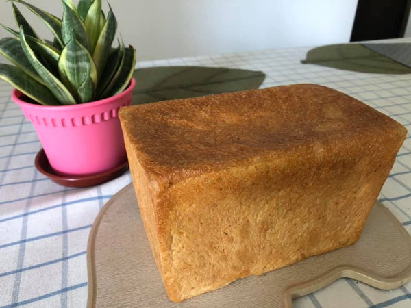 Loaf of bread homebaked homemade Ninja Foodi