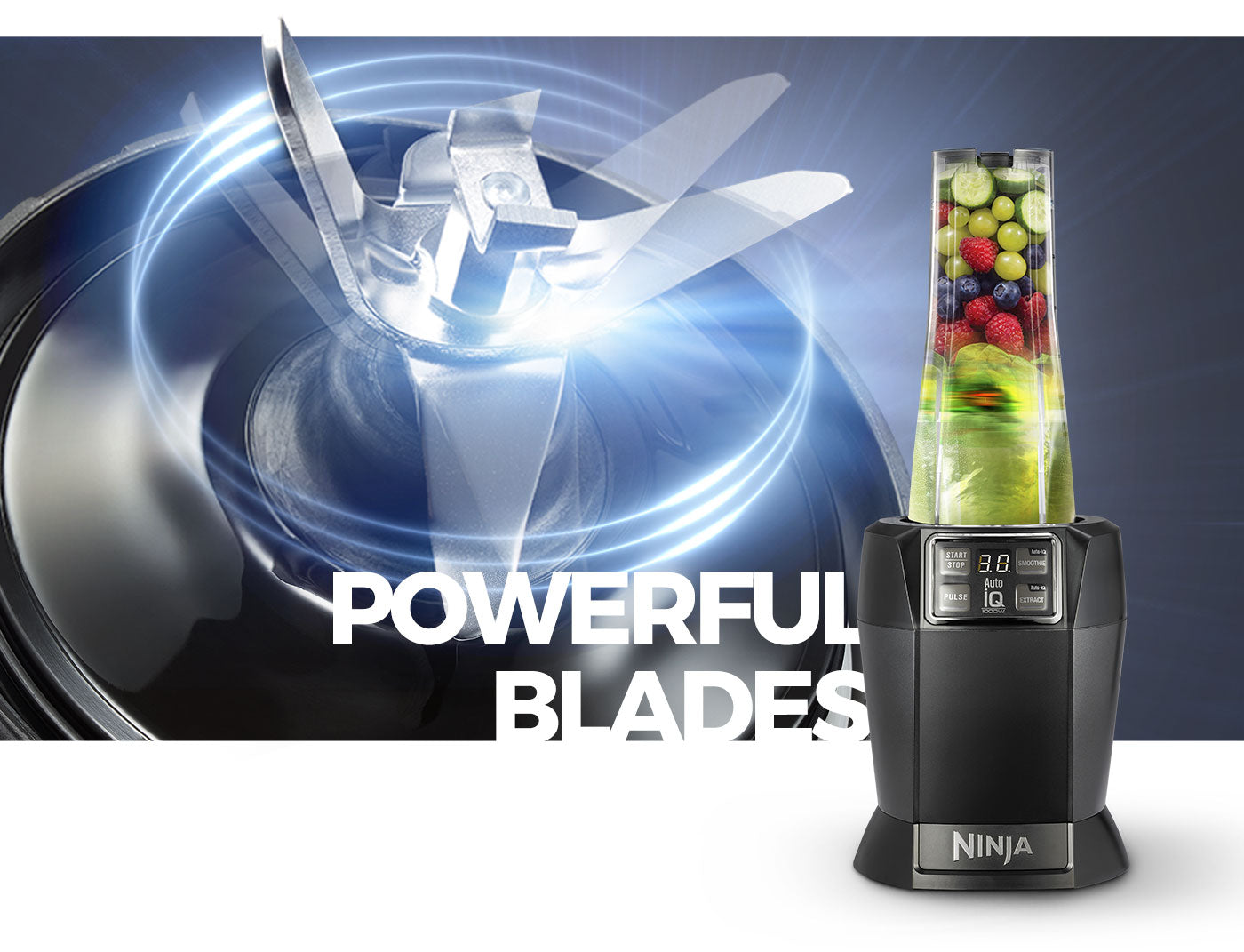 powerful blades
