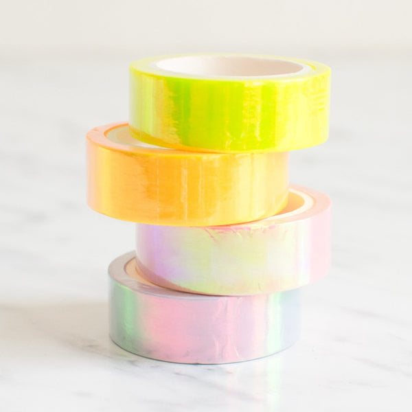 Holografisches Washi Tape Set