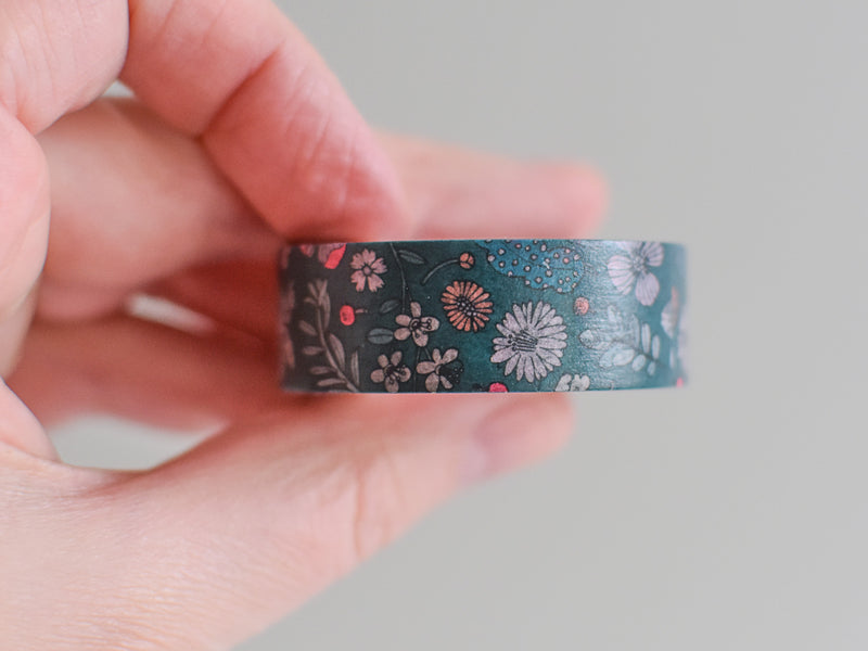 5x Paper Poetry Hygge Flowers Washi Tape Set