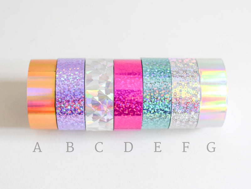 Paper Poetry Holografisches Washi Tape