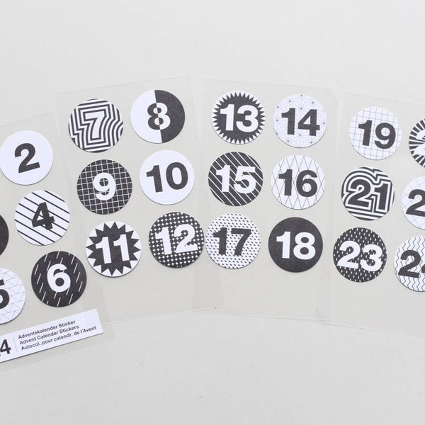 Adventskalender Sticker