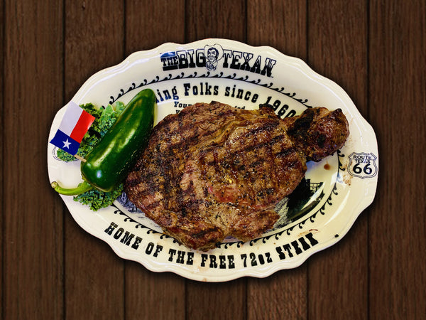12oz. Ribeye Fort Worth Cut
