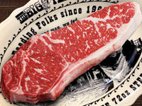 Raw Strip Steak