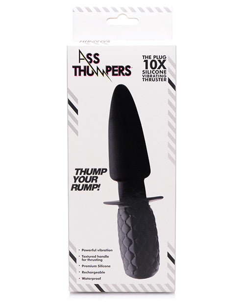 Ass Thumpers The Plug Silicone Vibrating Thruster - XSexStore