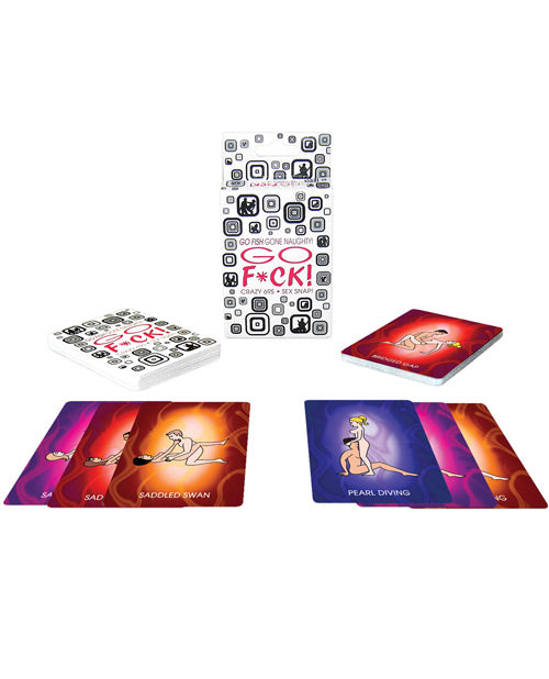 Go F*ck! Card Game - XSexStore