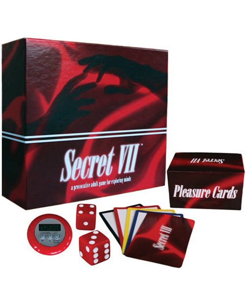 Secret VII- A Provocative Adult Game For Exploring Minds - XSexStore
