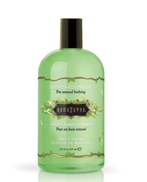 Kama Sutra Bath Gel - 17.5 Oz Mint Tree - XSexStore