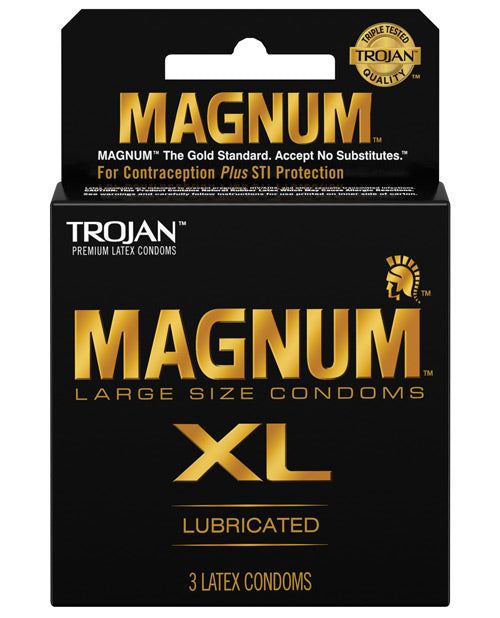 Trojan Magnum XL - Pack Of 3 - XSexStore