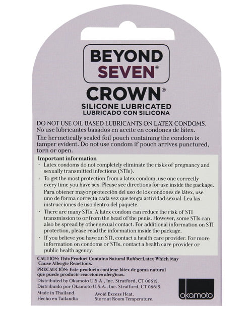 Crown Lubricated Condoms - XSexStore