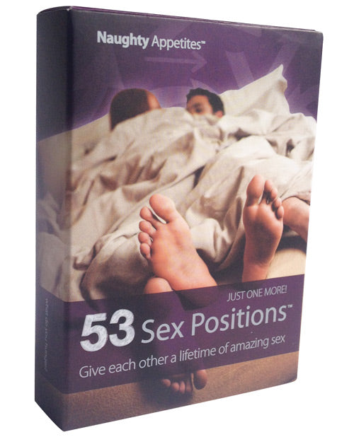 Naughty Appetites 53 Sex Positions Card Game - XSexStore