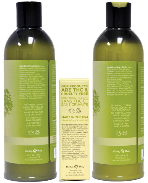 Earthly Body Miracle Oil Shampoo & Conditioner Pack - XSexStore