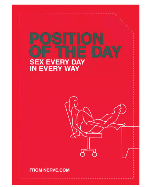 Position Of The Day Sex Every Day In Every Way Book - XSexStore